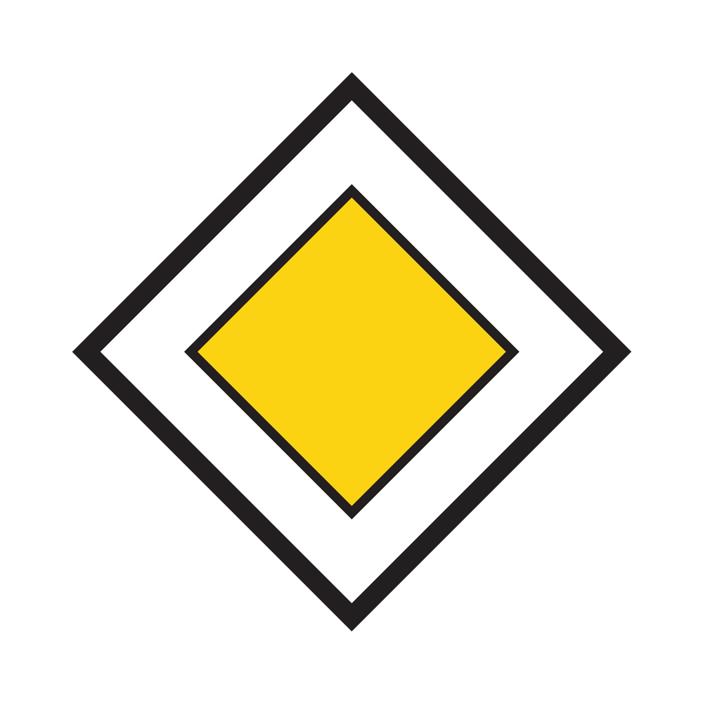 Знак конец главной дороги картинки